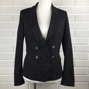 WHBM  double breasted blazer size 4